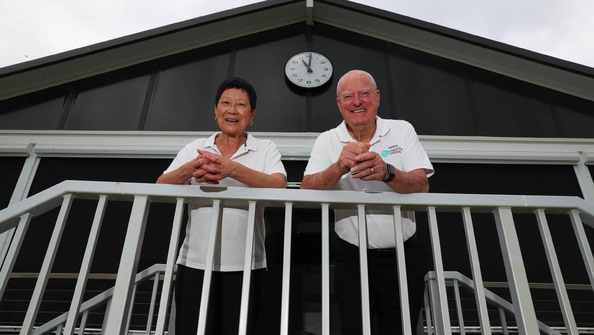 DREAM TEAM: Dorrice and Darryl Lamotte have been some of the biggest movers and shakers in Wagga's hospitality scene for decades. They plan to live the grey nomad lifestyle when they retire later this year. Picture: Emma Hillier