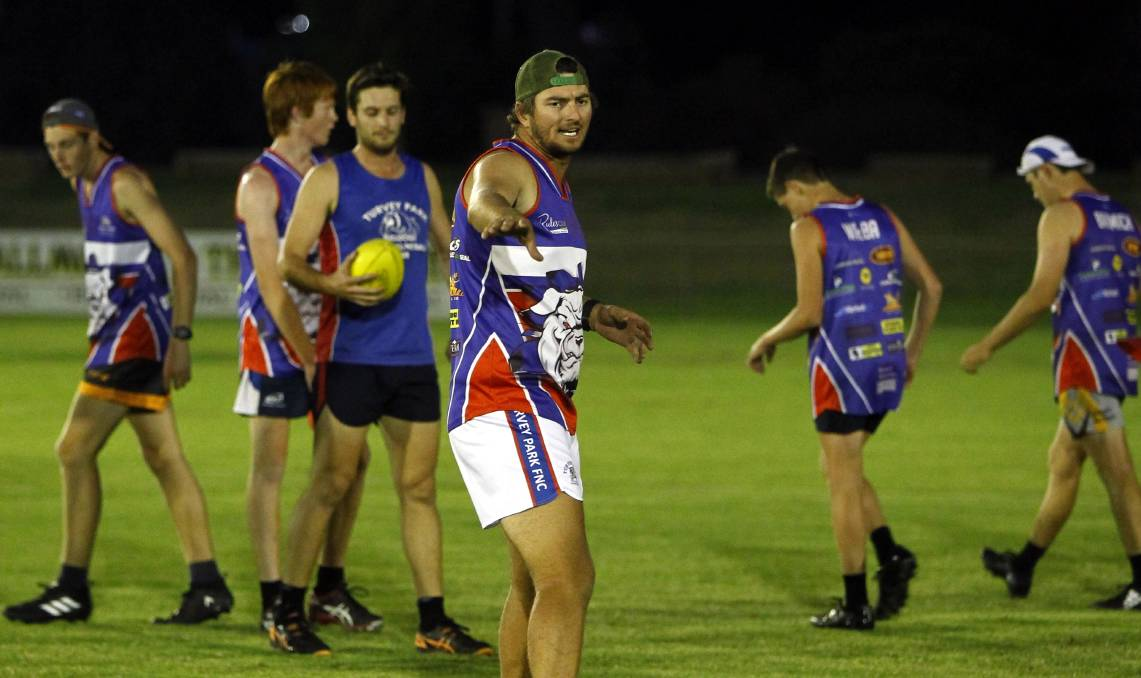ON THE MOVE: Mitch Sykes has left Turvey Park for a coaching opportunity at Riverina League rival Mangoplah-Cookardinia United-Eastlakes. Picture: Les Smith