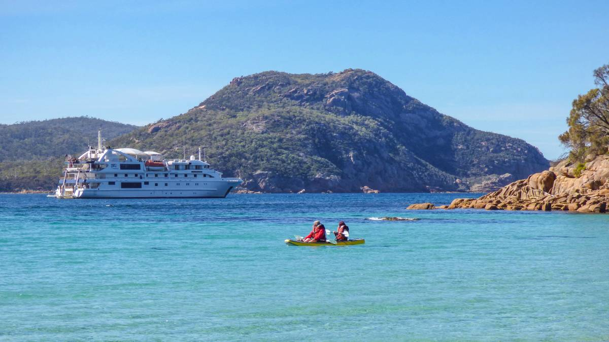 Small-ship cruise gets green light for Tasmania