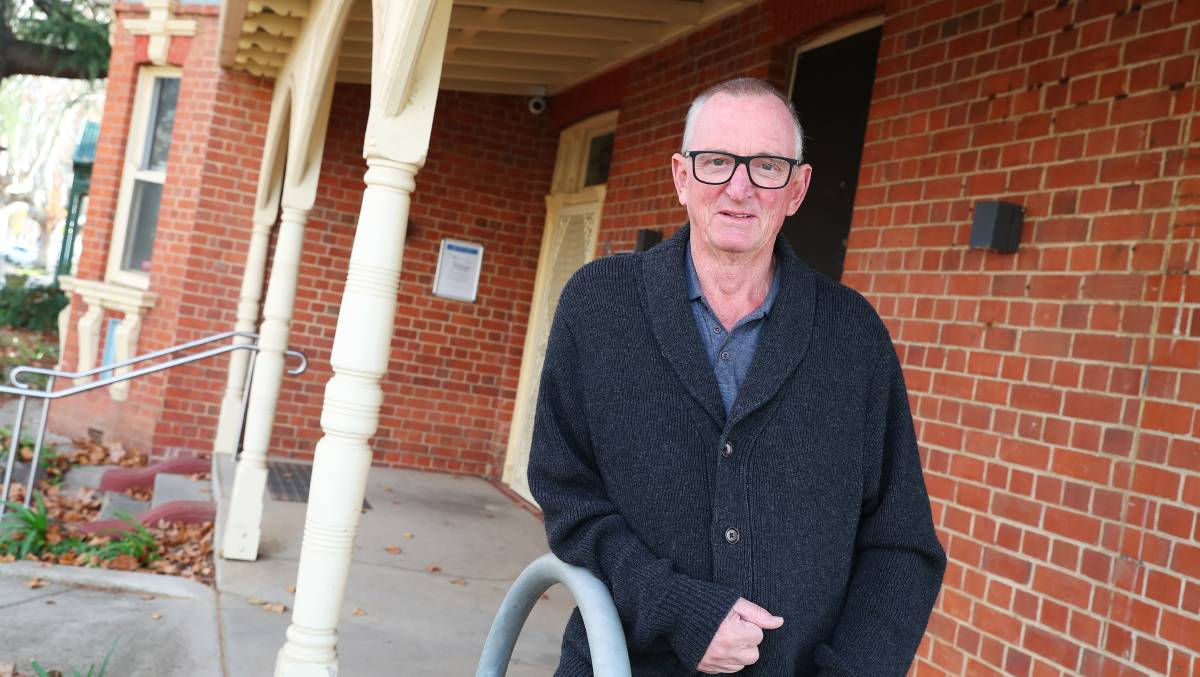St Vincent de Paul's Paul Burgess says governments must urgently invest more money in social housing.
