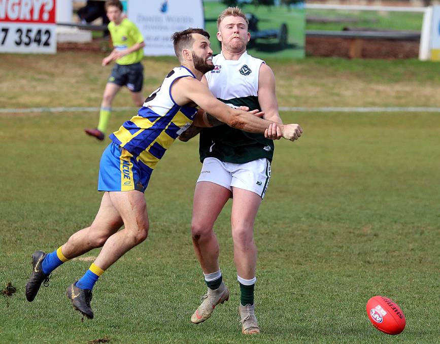 HEADING HOME: MCUE backman Tim Smith will return to Farrer League club East Wagga-Kooringal next season. Picture: Les Smith