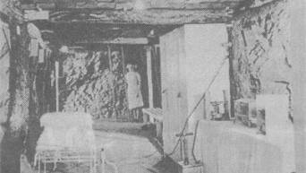 COMFORT BELOW: Nurses in the Second World War in the Underground Hospital in Mount Isa.