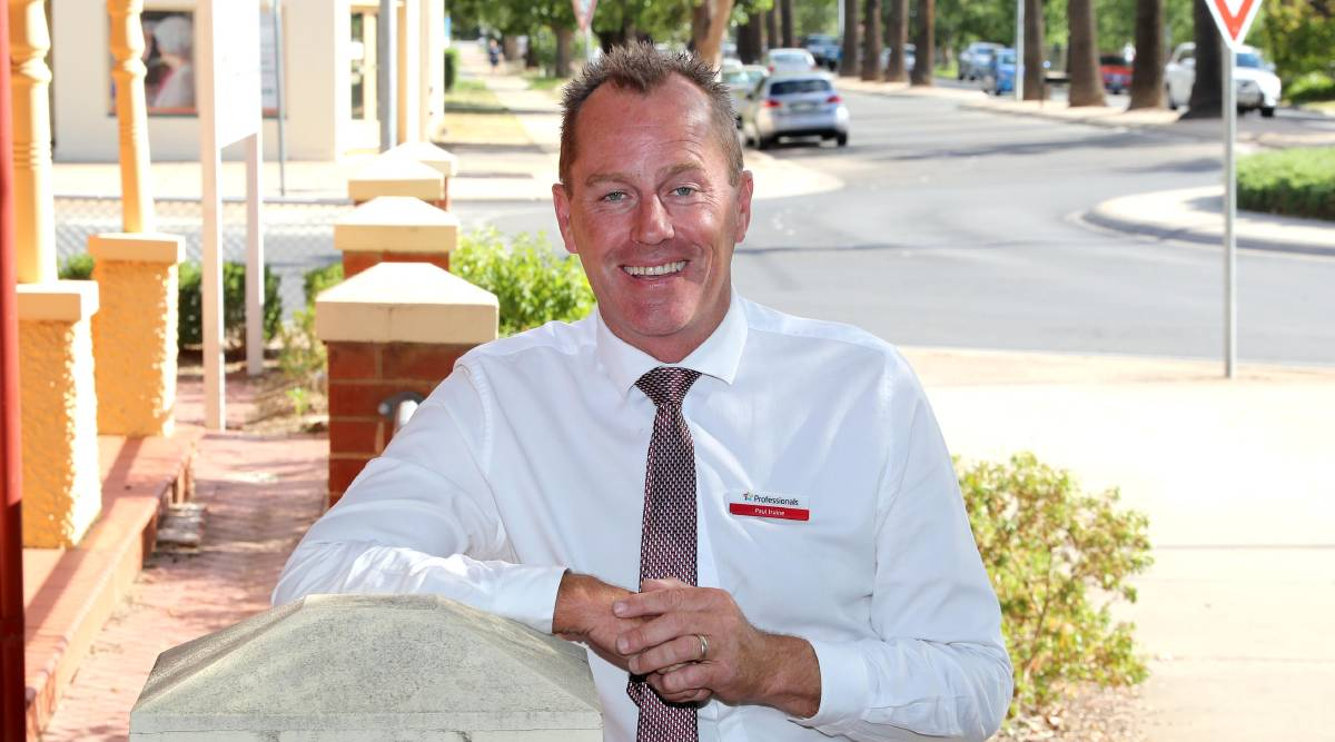 Professionals Wagga director Paul Irvine. Picture: Les Smith