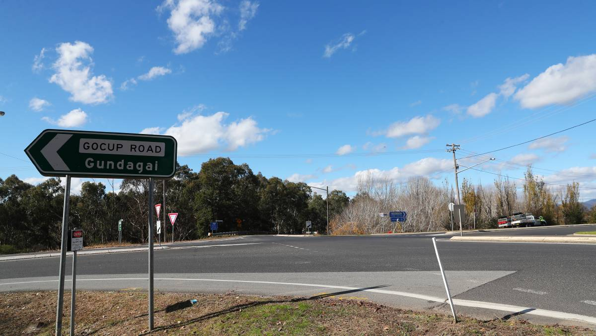 CONCERNS RAISED: Tumut people have long expressed concerns about the intersection of the Snowy Mountains Highway and Gocup Road, the scene of a horrific weekend crash.