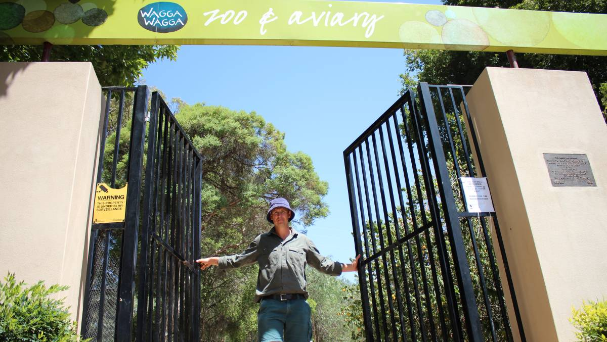 WEEKENDS ONLY: Wagga Zoo and Aviary at the Botanic Gardens has stopped opening on weekdays as Wagga City Council says visitor numbers have been low. Picture: File