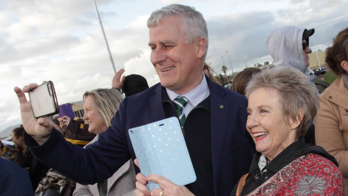 IN SUPPORT: Member for Riverina Michael McCormack will be supporting the same sex marriage bill following the Riverina's 54.6% 'yes' vote.
