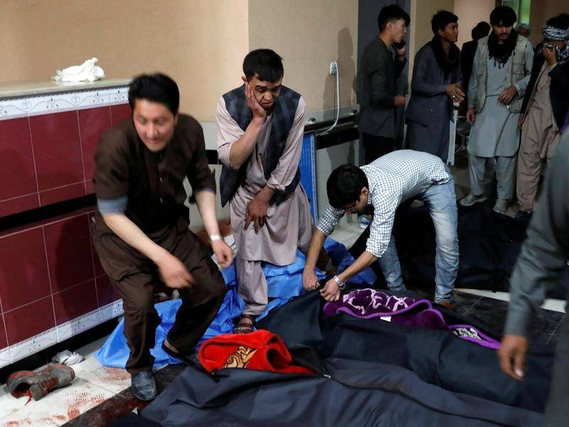 Most of the victims of the Kabul blast were students aged between 15 and 26, authorities say.
