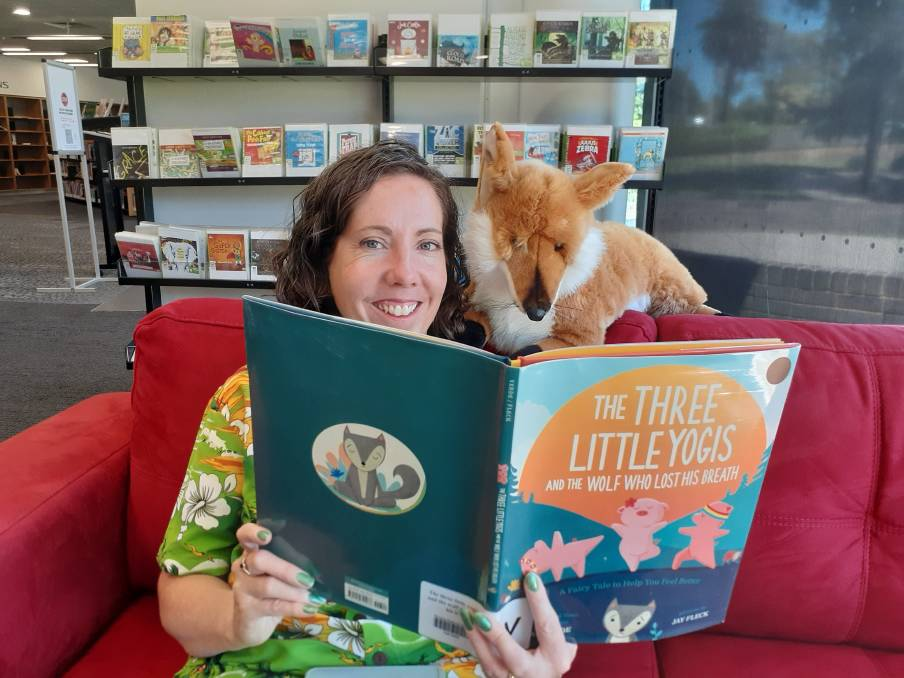THEY'RE BACK: Storytime presenter Wendy Harper and her fox friend are excited to bring magic, imagination and fun live to little ones once again.